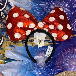 Minnie Mouse Large Bow Headband